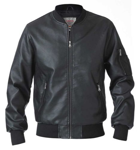 D555 PURBECK Faux Leather Jacket